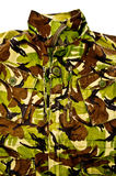 Military camouflage jacket Stock Image