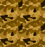 Military camouflage pattern. Vector Royalty Free Stock Photo