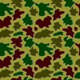 Woodland hunting camoflauge seamless pattern. Military camouflage seamless pattern army day background and garment graf new uniform Stock Photos