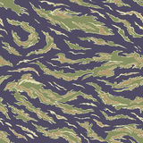 Military Camouflage Textile Pattern Stock Image