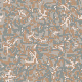 Military Camouflage Textile Pattern Stock Images