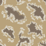 Military Camouflage Textile Pattern Royalty Free Stock Photography