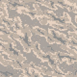 Military Camouflage Textile Pattern Royalty Free Stock Images
