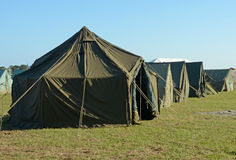 Military camp Royalty Free Stock Images