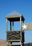Military camp security Royalty Free Stock Images