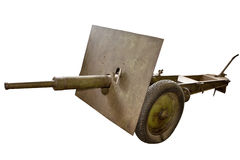 Military cannon isolated Stock Images