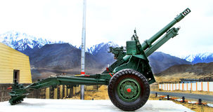 Military canon Royalty Free Stock Image
