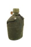Military canteen Stock Photo