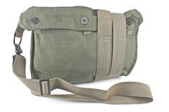 Military canvas bag Stock Image