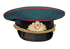 Military cap Stock Photography