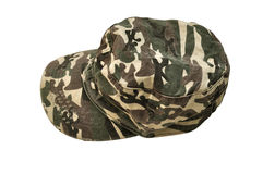 Military cap Stock Image