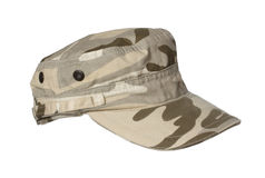 Military cap. Royalty Free Stock Images