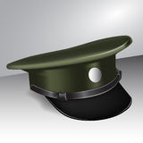 Military cap Royalty Free Stock Photos