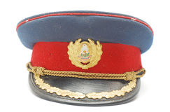 Military cap Royalty Free Stock Photo