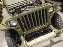 Military car stock photo