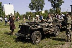 Military car Royalty Free Stock Photos
