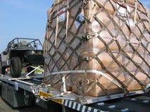 Military cargo Stock Image