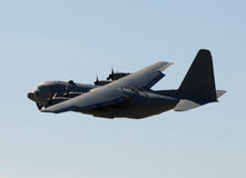 Military cargo airplane Stock Photography