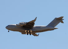 Military cargo jet Royalty Free Stock Photography