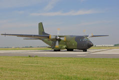 Military cargo plane Royalty Free Stock Photos
