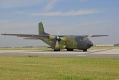 Military cargo plane Royalty Free Stock Photos