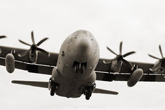 Military cargo transporter Stock Images