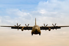 Military cargo transporter Royalty Free Stock Photography