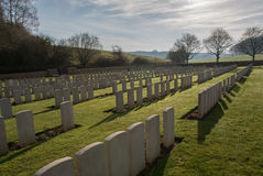 Free Military Cemetary In France (WW1) Royalty Free Stock Image - 48516996