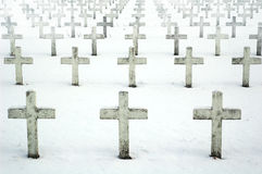 Free Military Cemetery Royalty Free Stock Photos - 1016388