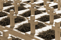 Military cemetery Royalty Free Stock Photography