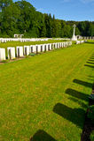 Military Cemetery Stock Image