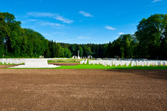 Military Cemetery Stock Image