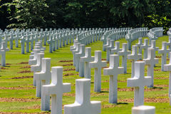 Military cemetery Stock Photography