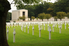 Military cemetery. England. Stock Photography