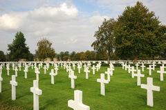 Military cemetery. England. Stock Photos
