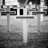 Military cemetery Stock Images