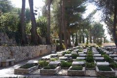 Military cemetery Royalty Free Stock Photos