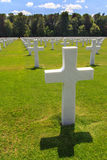 Military cemetery royalty free stock photo