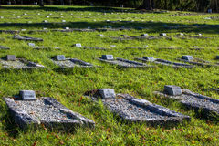 Military cemetery, Slovakia Royalty Free Stock Photo