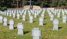 Military cemetery, Slovakia Stock Photos