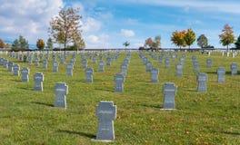 Military cemetery, Slovakia Royalty Free Stock Photos