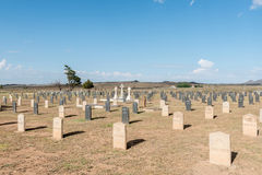 Military cemetery at Springfontein Stock Photo