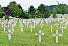 Military cemetery of War 1914-1918 Stock Photography