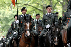 Military Ceremony - the Netherlands Stock Images