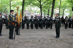 Military Ceremony - the Netherlands Stock Photo