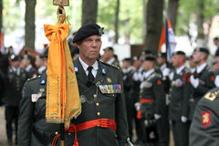 Military Ceremony - the Netherlands Royalty Free Stock Photos