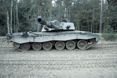 Military. Challenger 2 main battle tank Stock Images