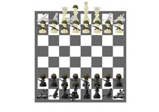 Military chess Stock Images
