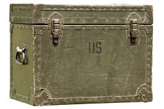 Military chest Stock Images