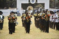 Military choir Stock Image